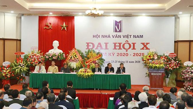 ĐẠI HỘI HỘI NHÀ VĂN VIỆT NAM  Lần thứ X, nhiệm kỳ 2020 - 2025